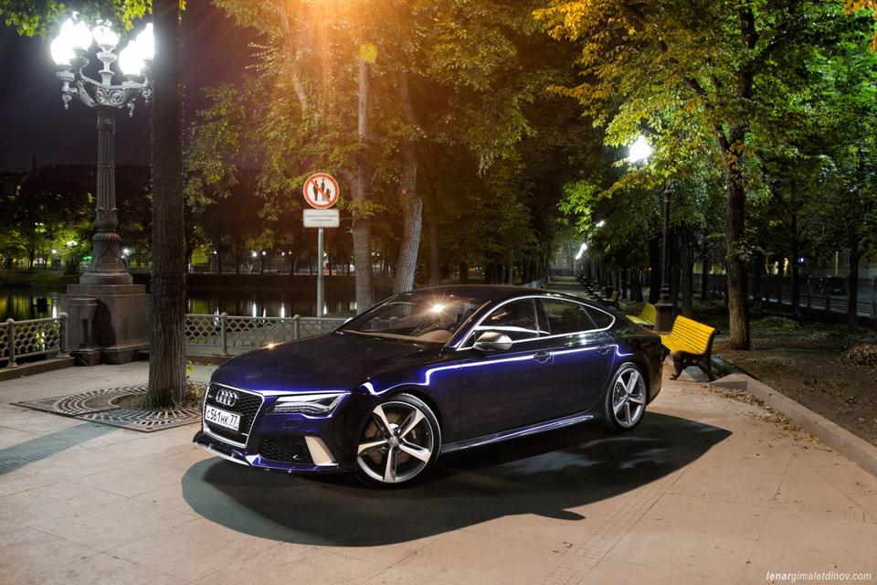 """Тест-драйв Audi RS7 Sportback (560 л.с.) — """"трёхдневный тест"""""""