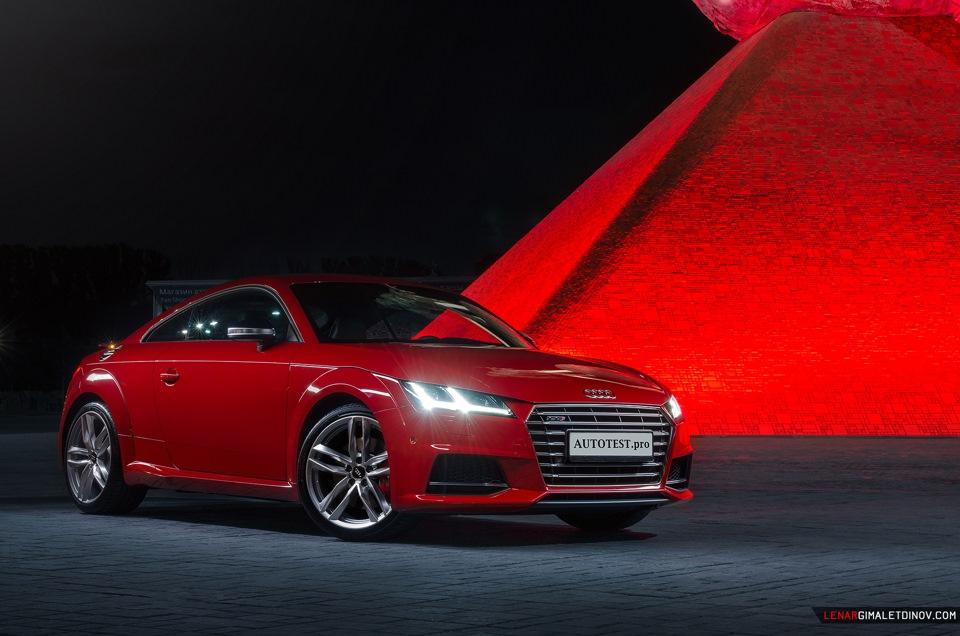 Audi TTS фотосет в Москве