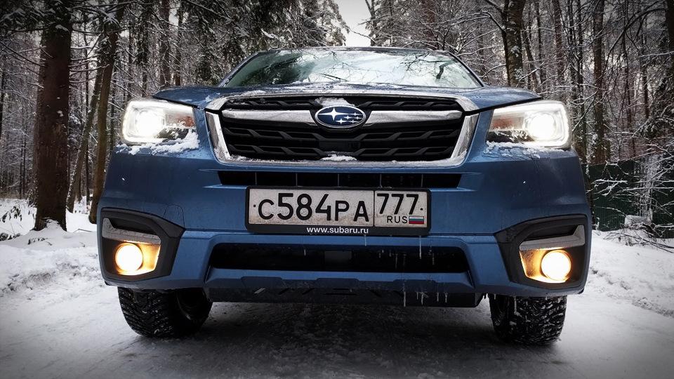 Subaru Forester, который как Мухтар