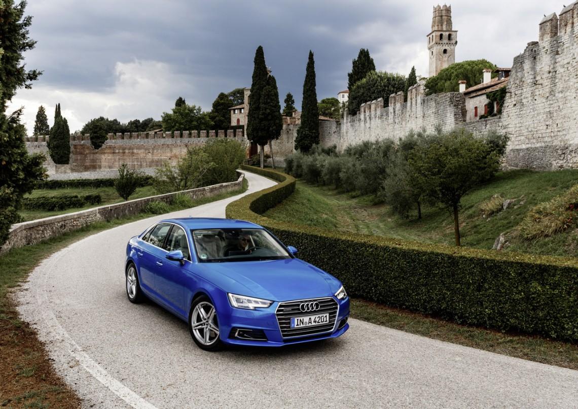 Тест-драйв Audi A4 B9 new - первые впечатления
