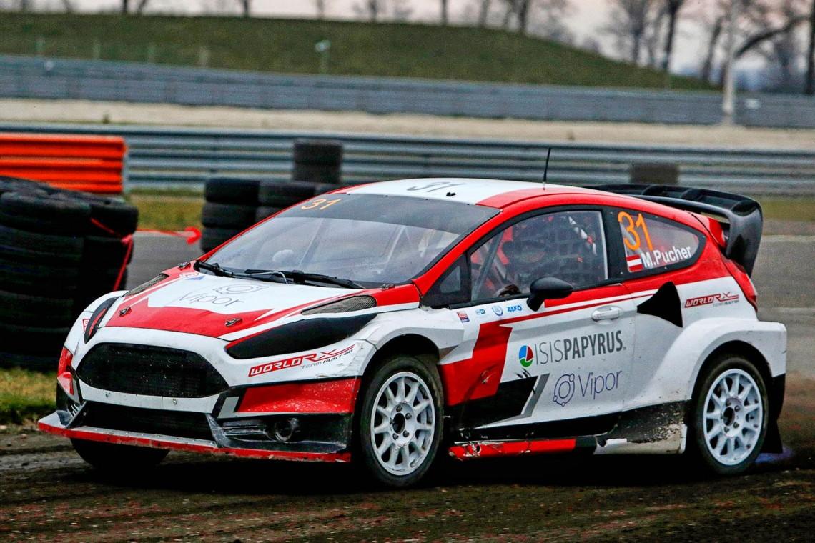 Тимур Тимерзянов провёл предсезонные тесты Ford Fiesta RX