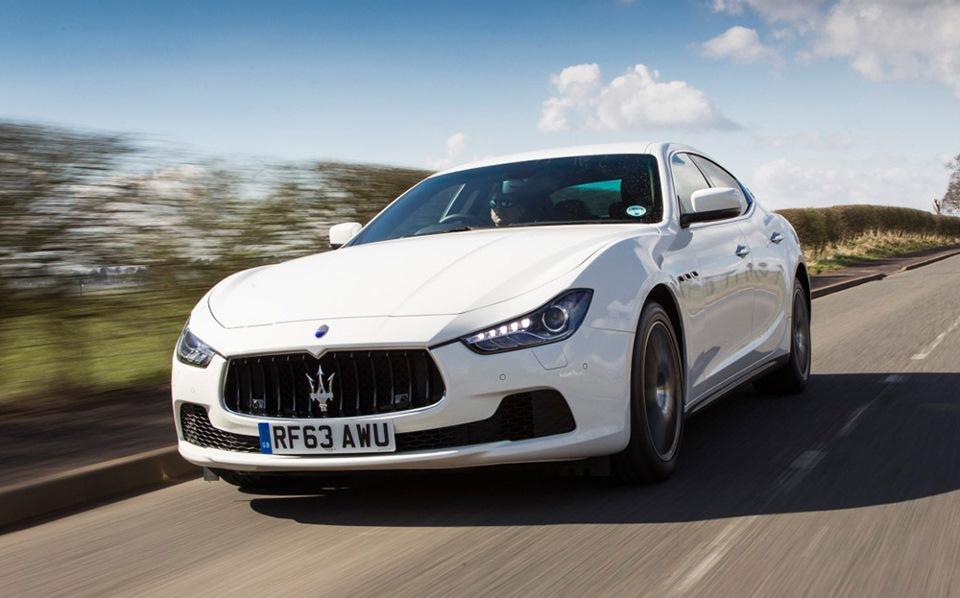 Колонка Кларксона: тест-драйв Maserati Ghibli S