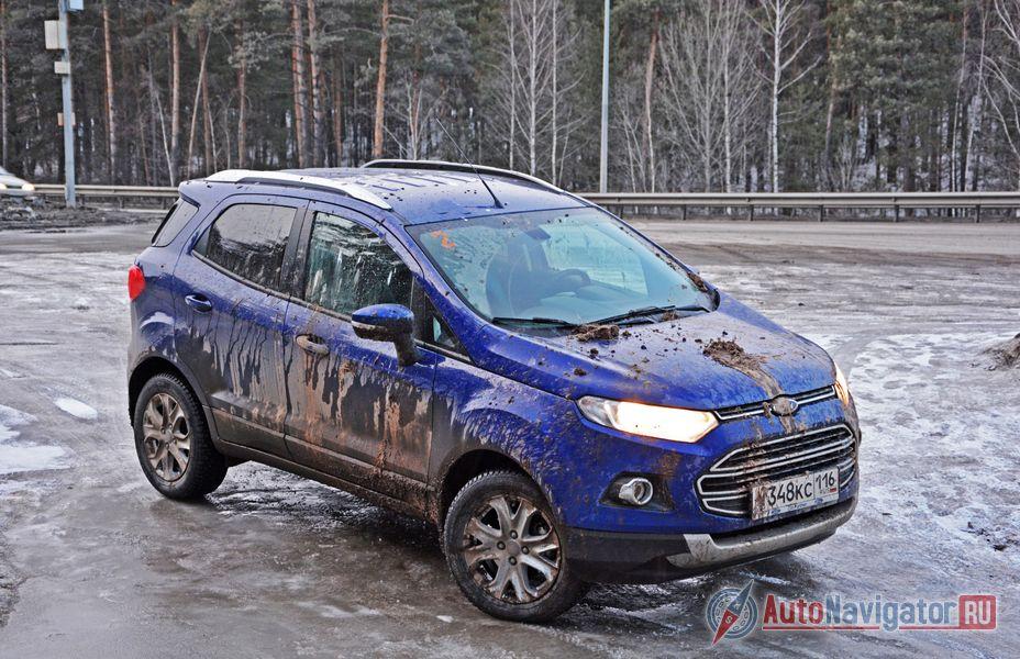 Тест-драйв Ford EcoSport: распутываем клубок