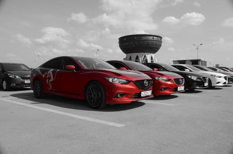 Первый день рождения клуба Mazda 6 GJ Казань