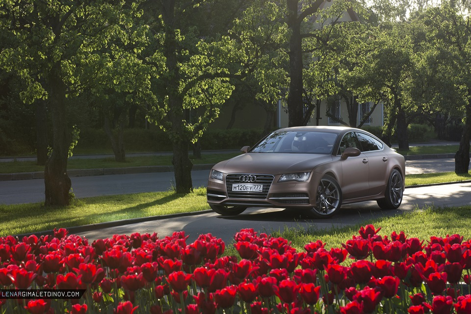 """Audi A7 """"Армянский Ковёр"""", фотосет"""