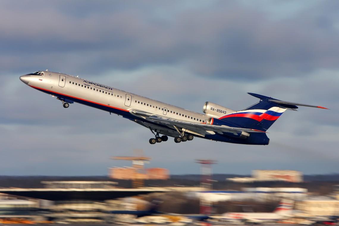 Ту-154 — самый красивый самолет