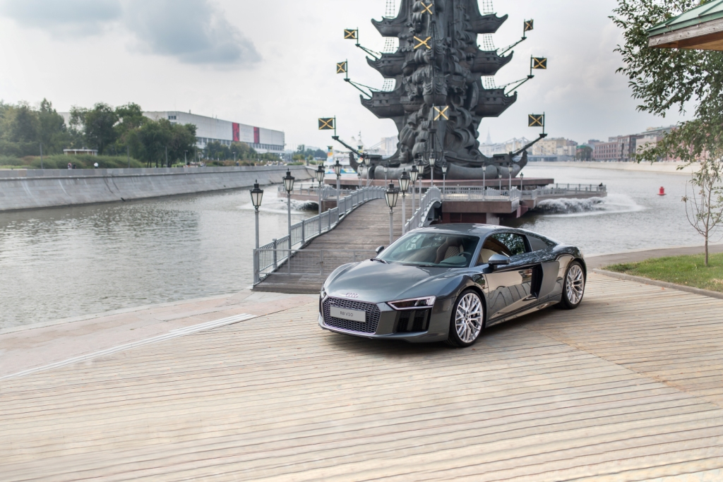 Та самая российская премьера Audi R8 new – на которой я должен был присутствовать