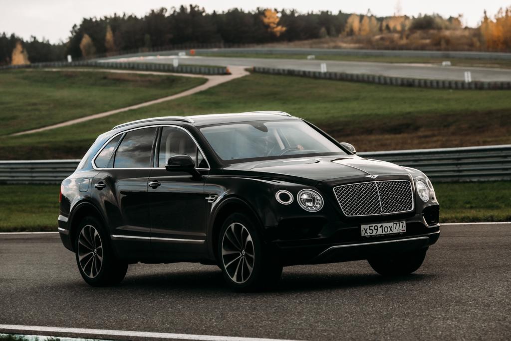 Bentley Bentayga - тест-драйв на треке Kazan Ring