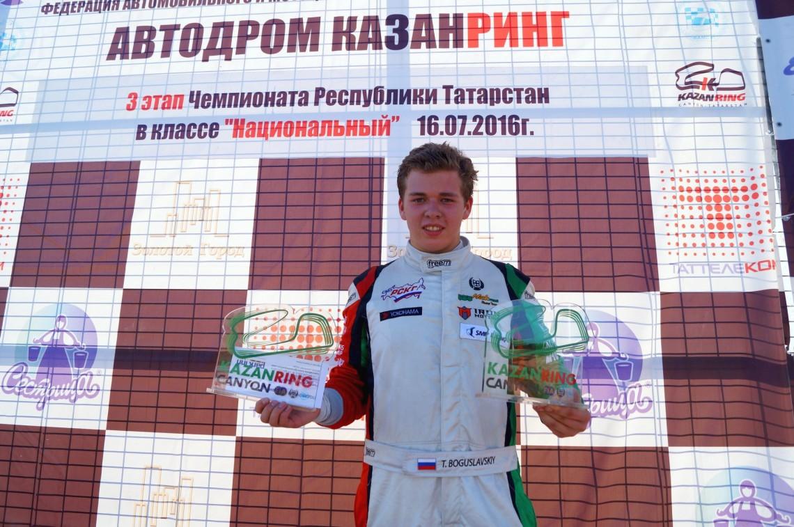 Взлёт Тимура Богуславского: чего можно достичь в год дебюта в автоспорте