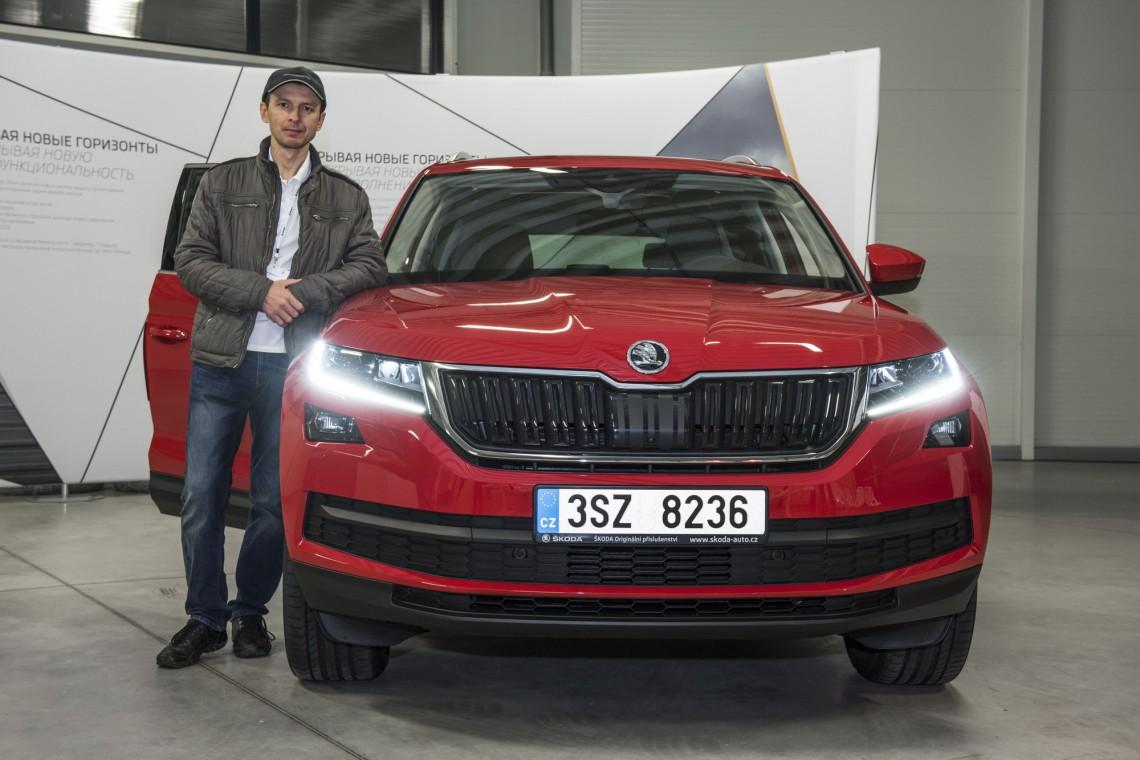 Škoda Kodiaq - подробности из первых рук