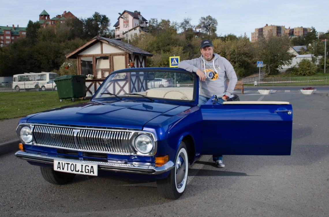 Сутки на необычном кабриолете Volga ГАЗ-24