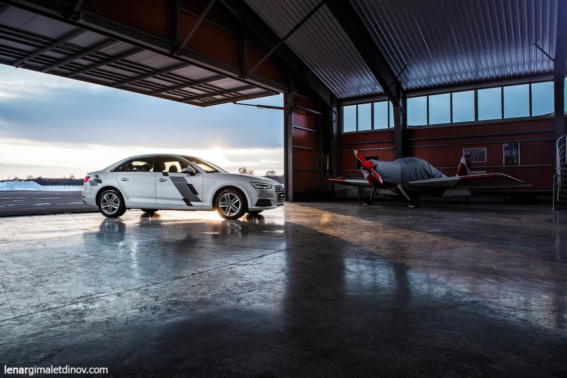 Трехдневный тест-драйв Audi A4 B9 new