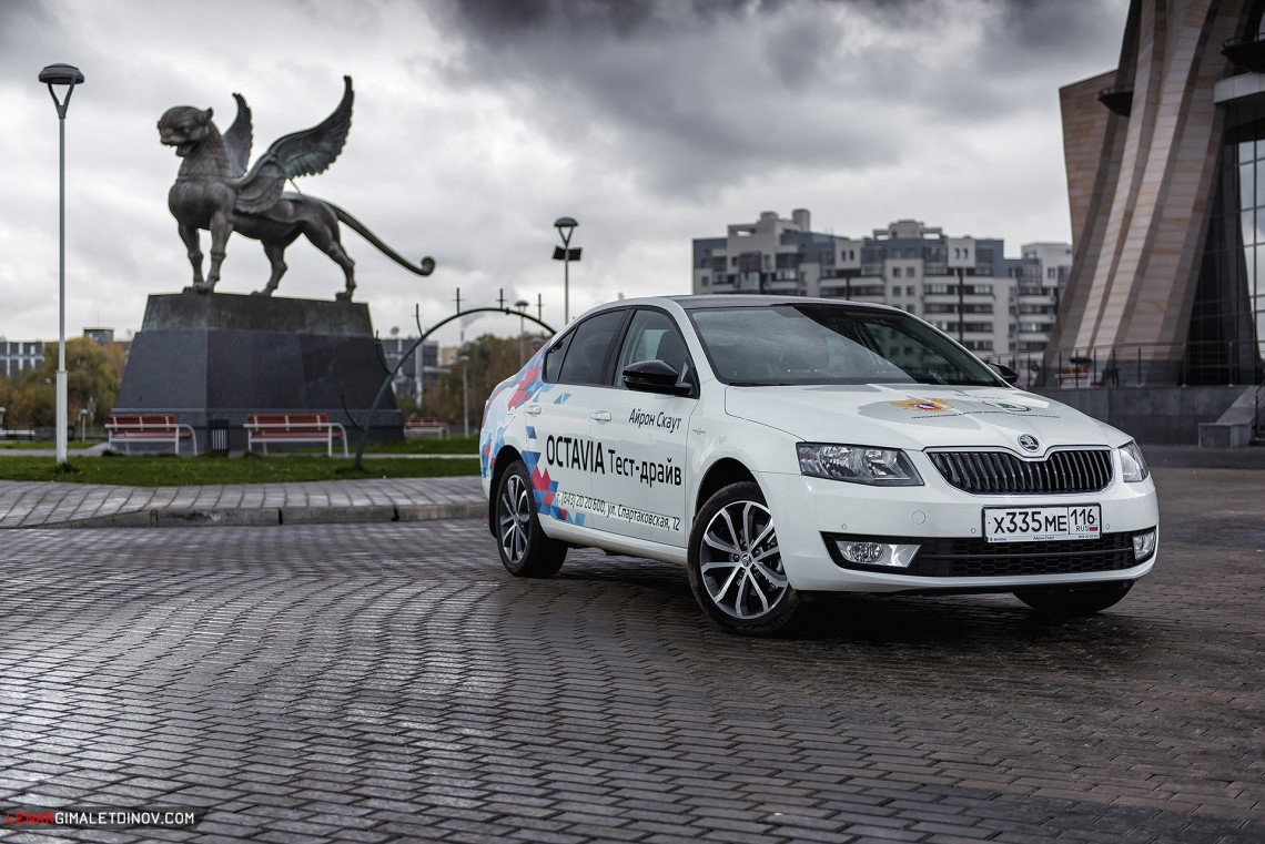 Феномен Škoda Octavia - чем берёт лидер российского гольф-класса