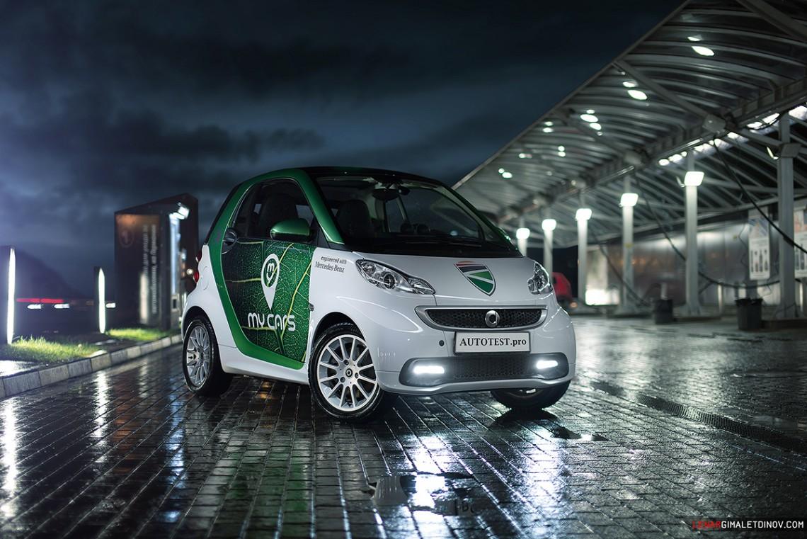 Трехдневный тест-драйв электромобиля Smart Electric