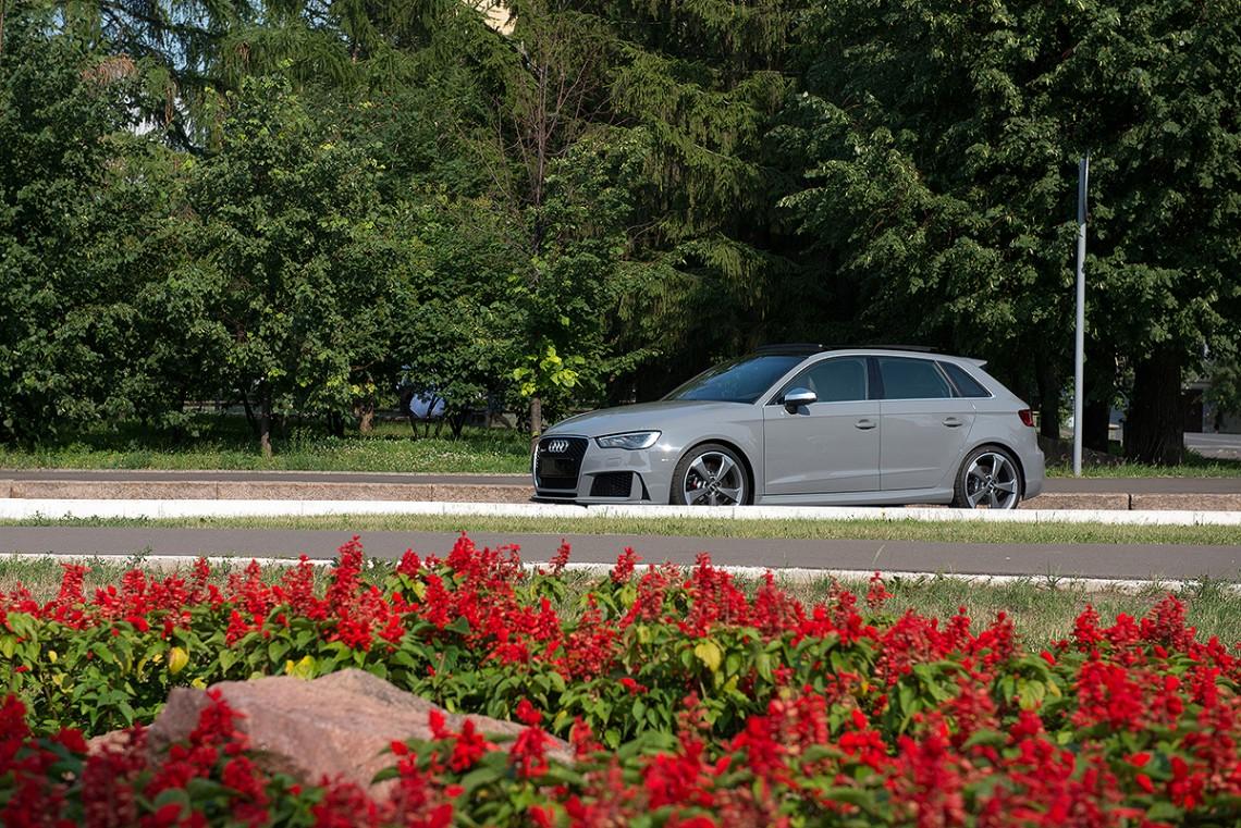 Фотосет Audi RS3 Nardo Grey