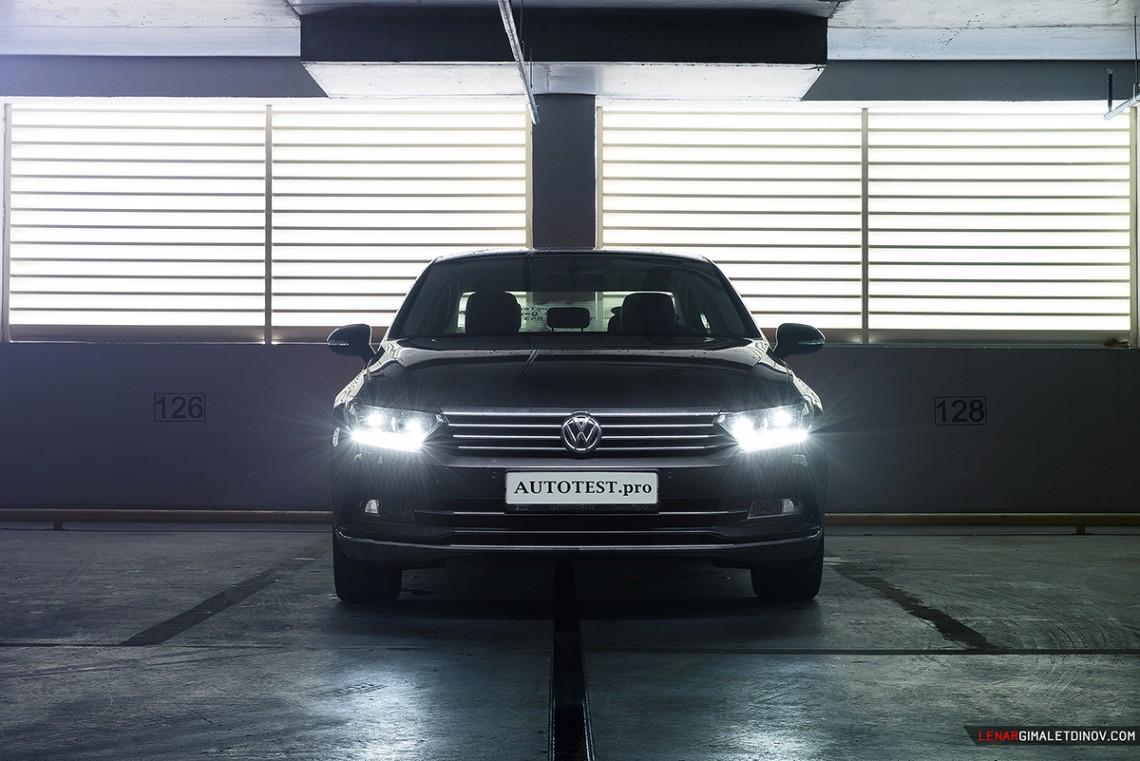 Трехдневный тест-драйв VW Passat B8