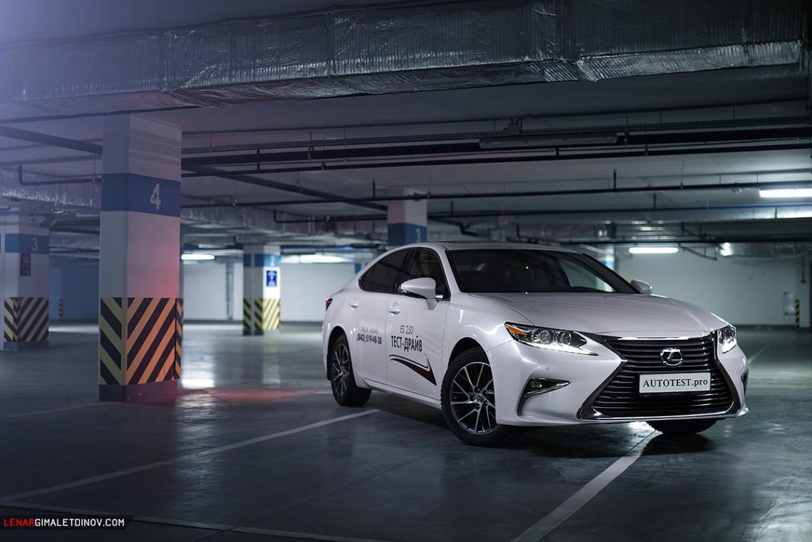 Трехдневный тест-драйв Lexus ES new (XV60)