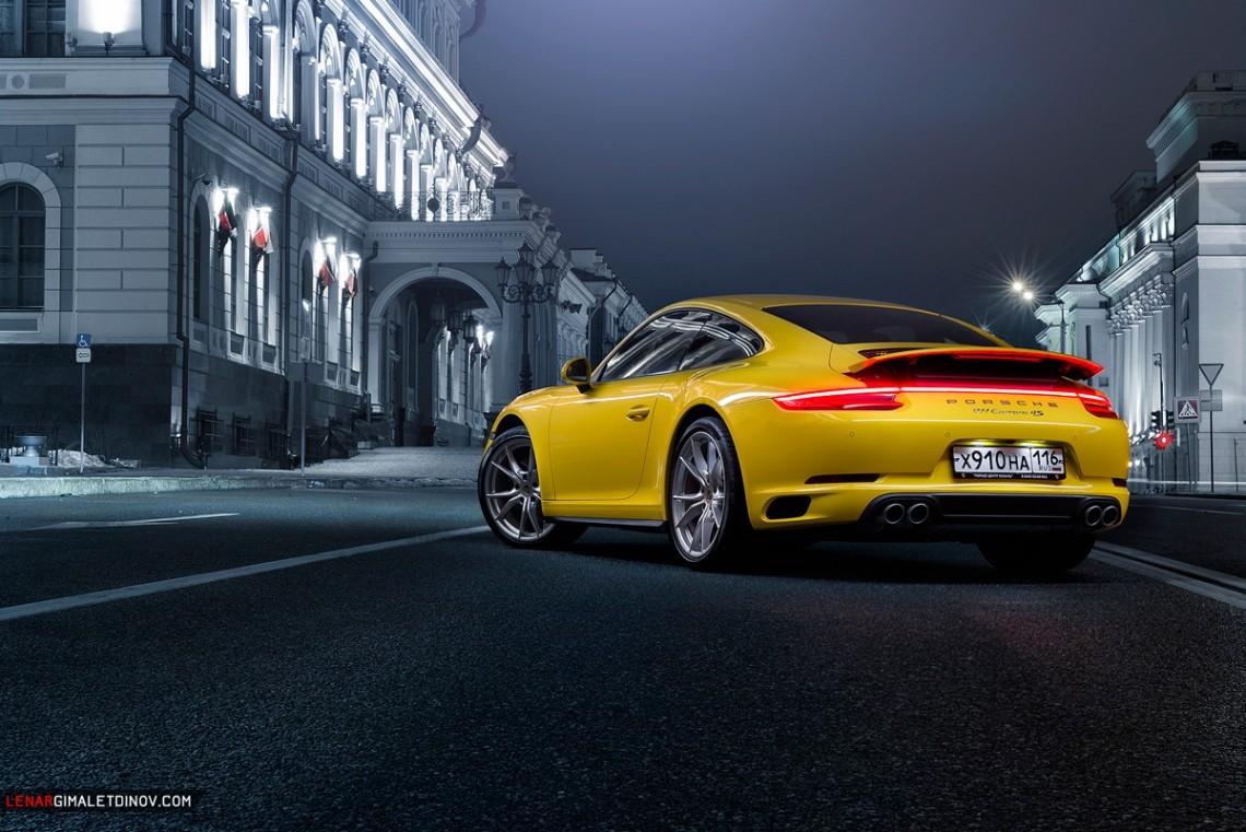Тест-драйв Porsche 911 Carrera 4S - #ТрехдневныйТест