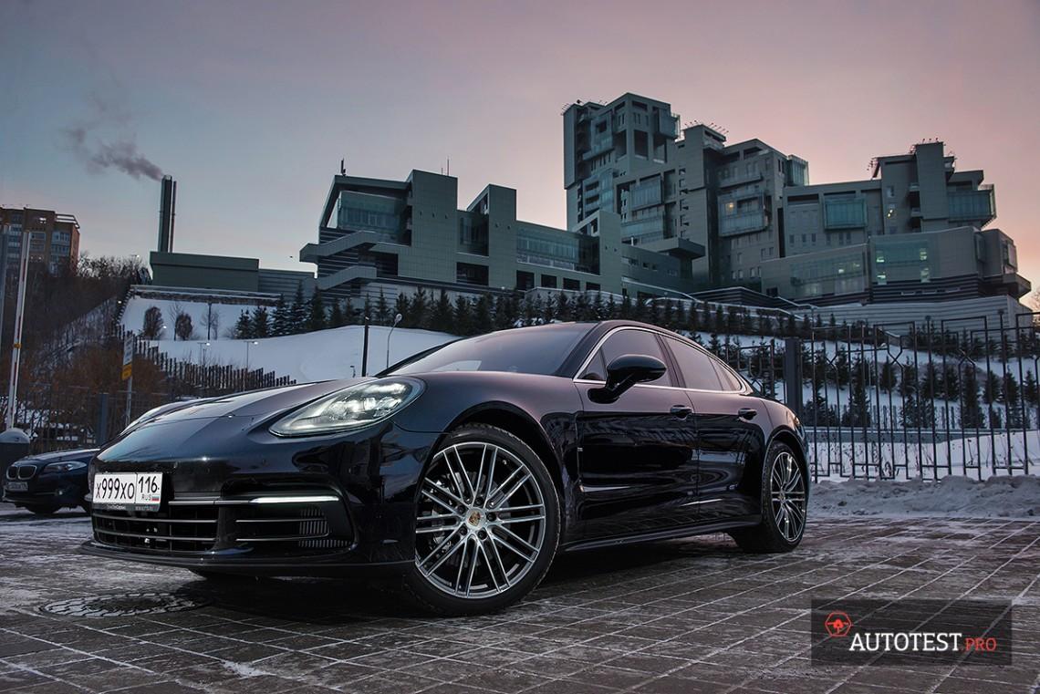 Тест-драйв Porsche Panamera 4S new 2017