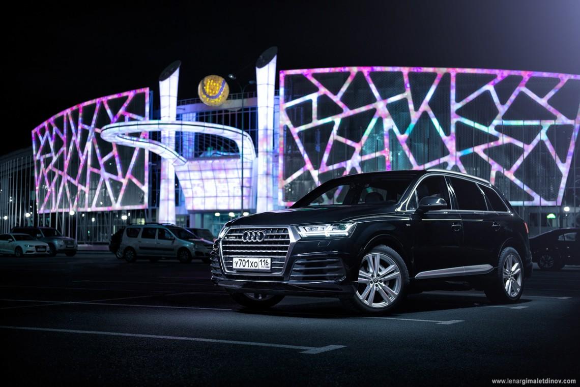 Тест-драйв: Audi Q7 на фоне «родственников» и конкурентов