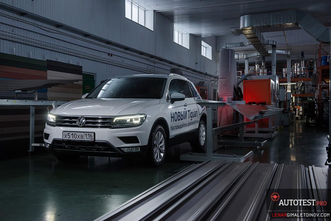Тест-драйв VW Tiguan new 2017
