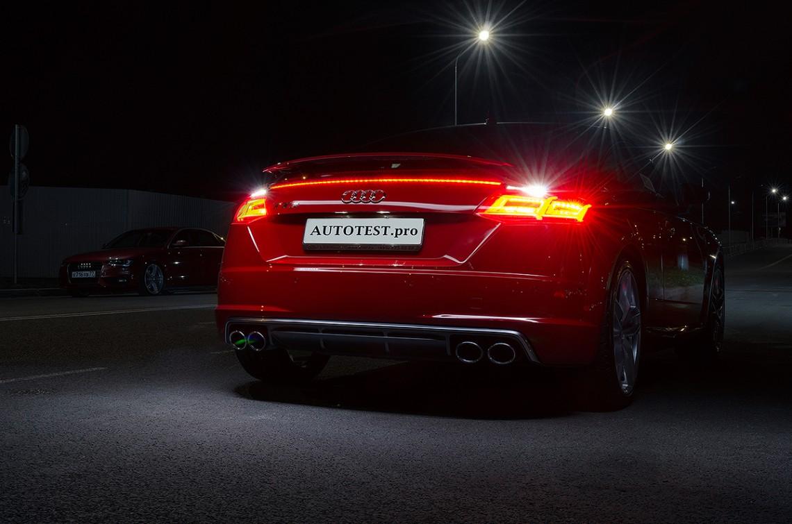 Трехдневный тест-драйв Audi TTS quattro 310hp