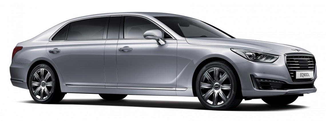 Genesis EQ900 Limousine выходит на рынок