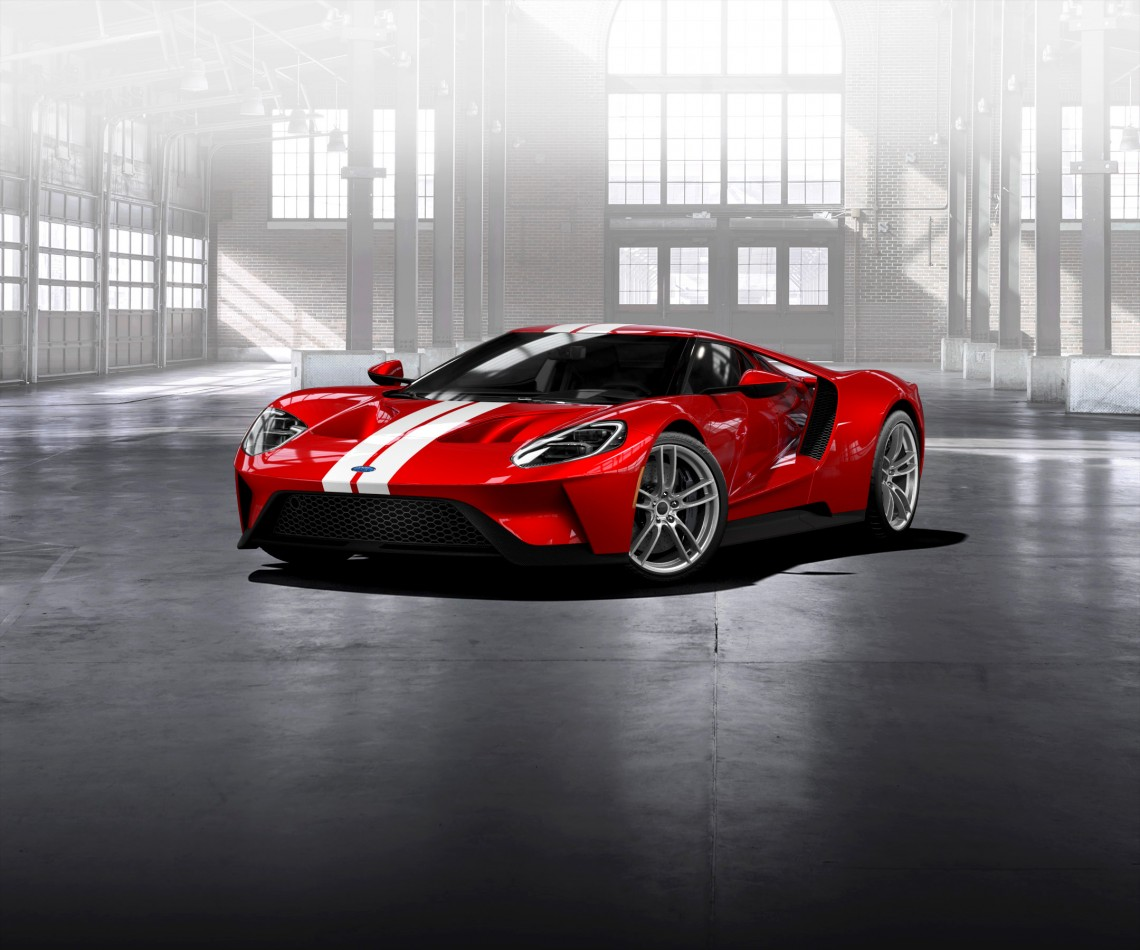 Сегодня начат приём онлайн-заказов на суперкар Ford GT