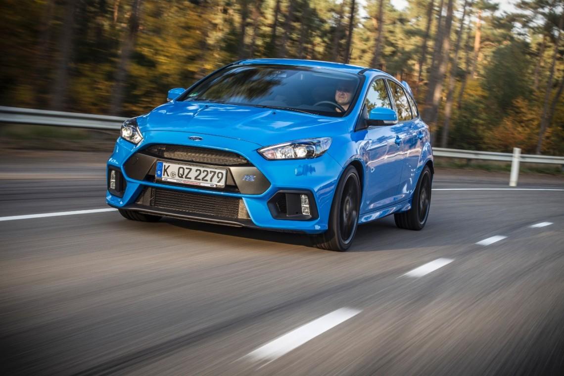 Новый Ford Focus RS пошёл в серию