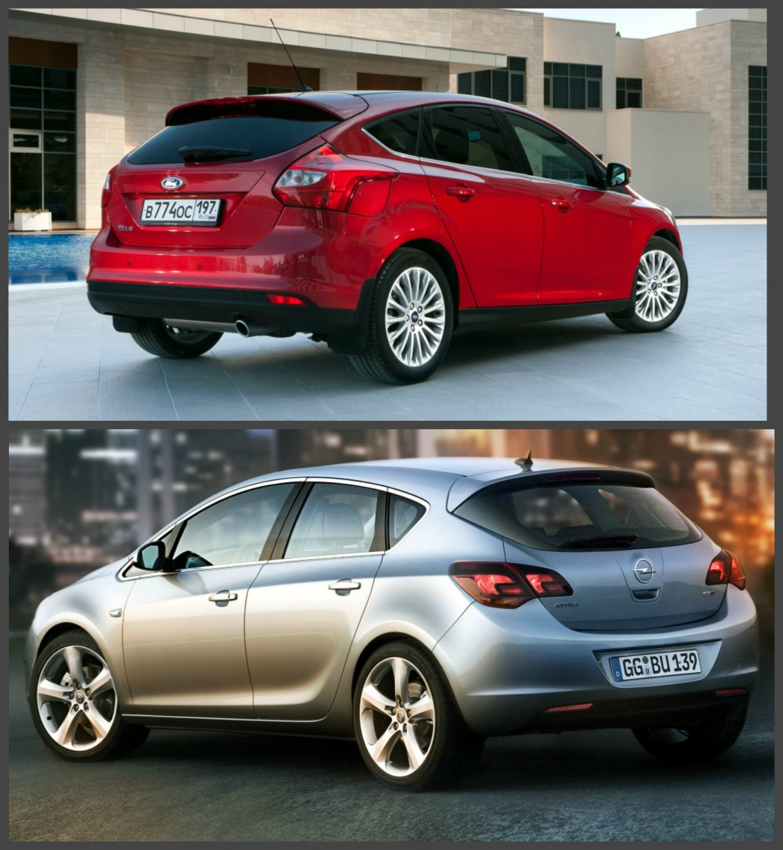 Сравниваем: Ford Focus и Opel Astra