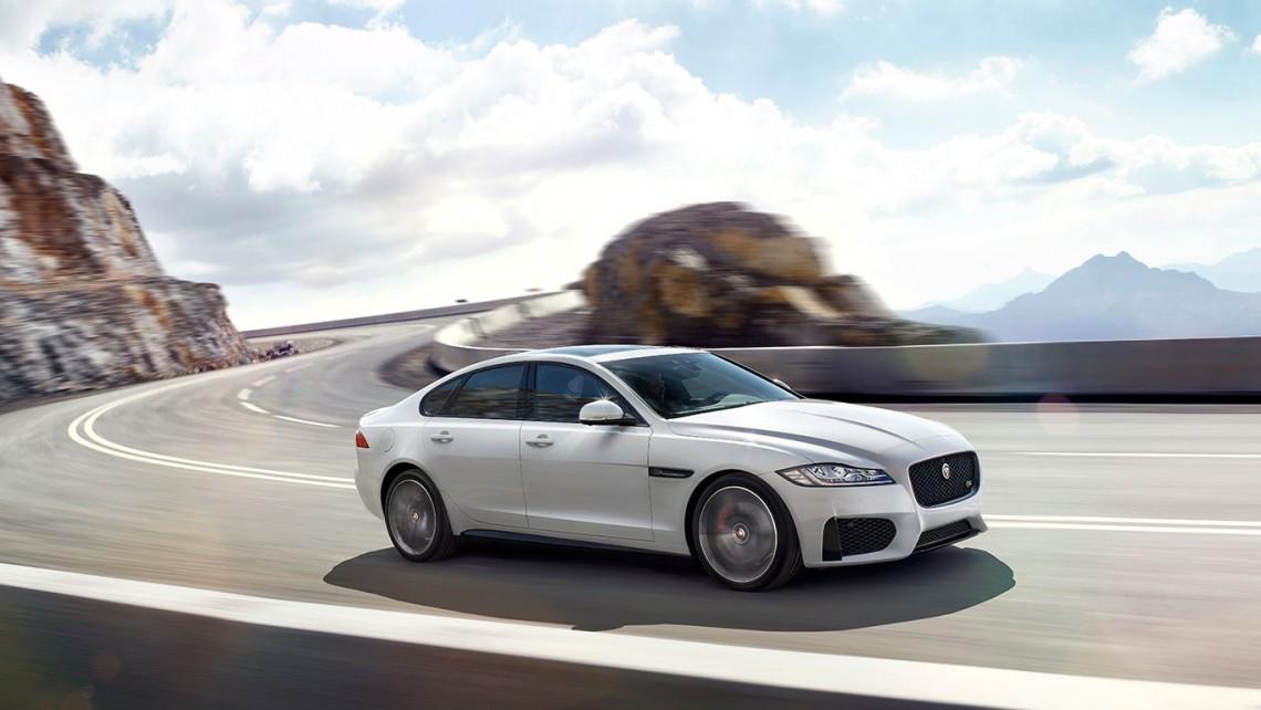 Тест-драйв: Jaguar XF 2016 new - первые впечатления