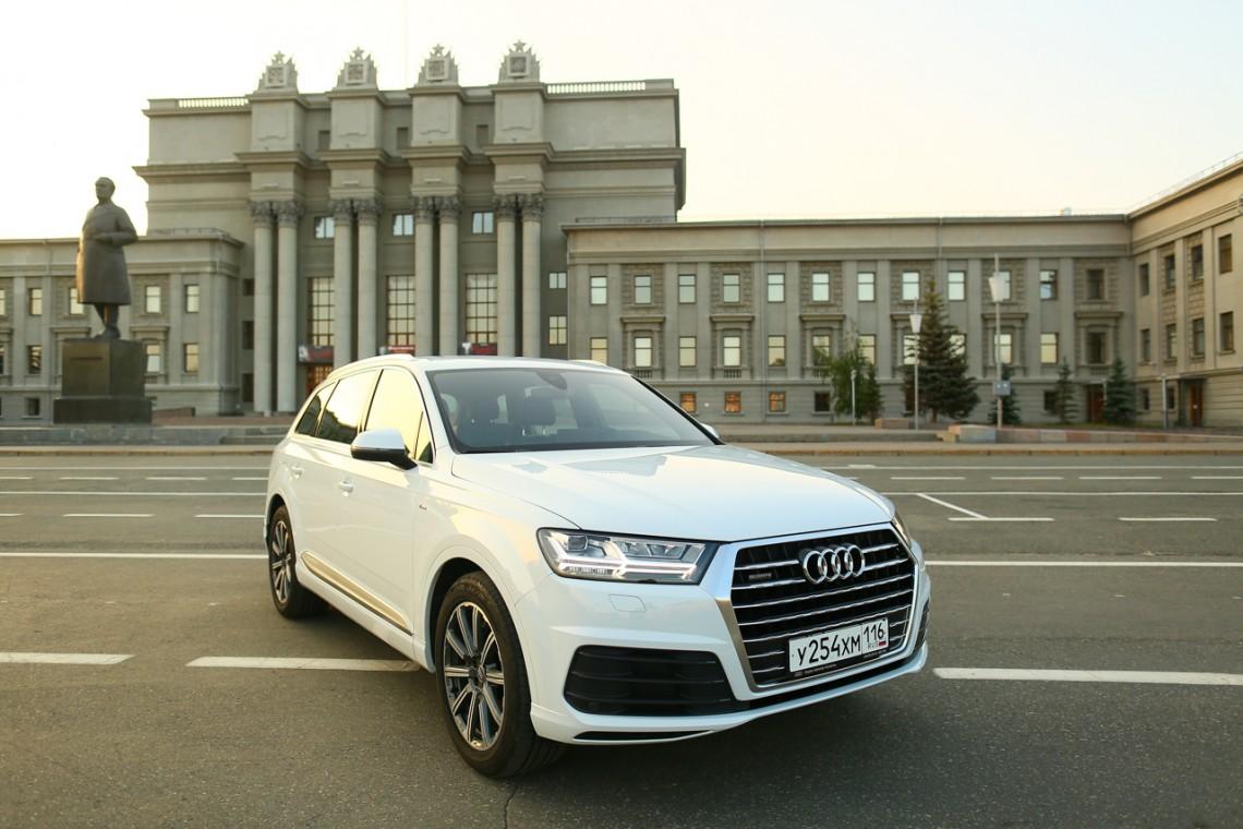 Тест-драйв Audi Q7 3.0 TFSI Quattro #трехдневныйтест