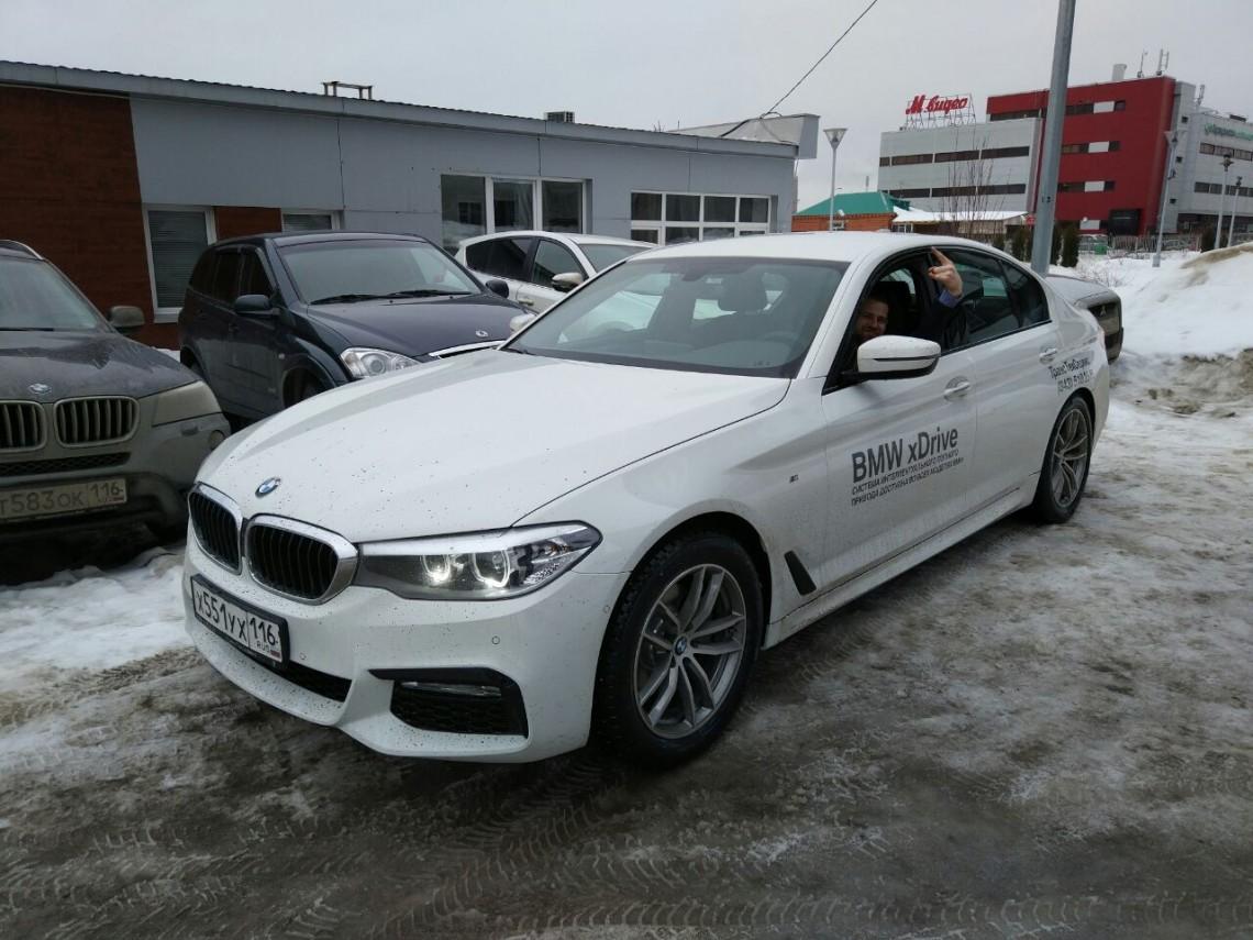 BMW 5 G30 — Первый Российский тест-драйв!