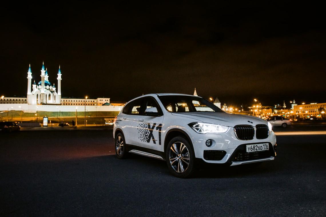 """Тест-драйв BMW X1 2016 - мы будем жить теперь """"по-новому"""""""