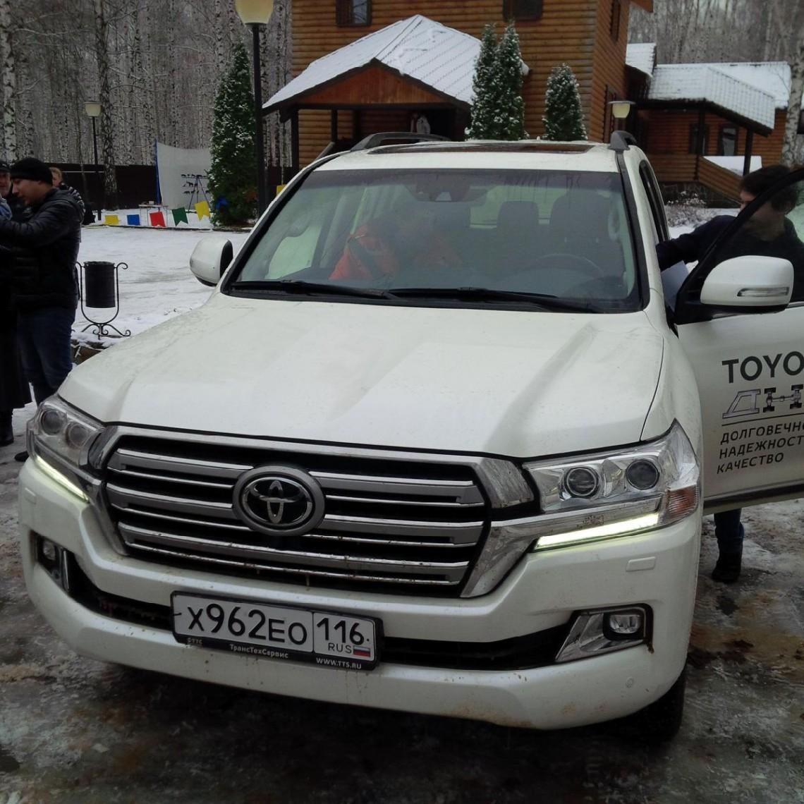 Toyota Land Cruiser 200. Внедорожная презентация в Охотничьем клубе