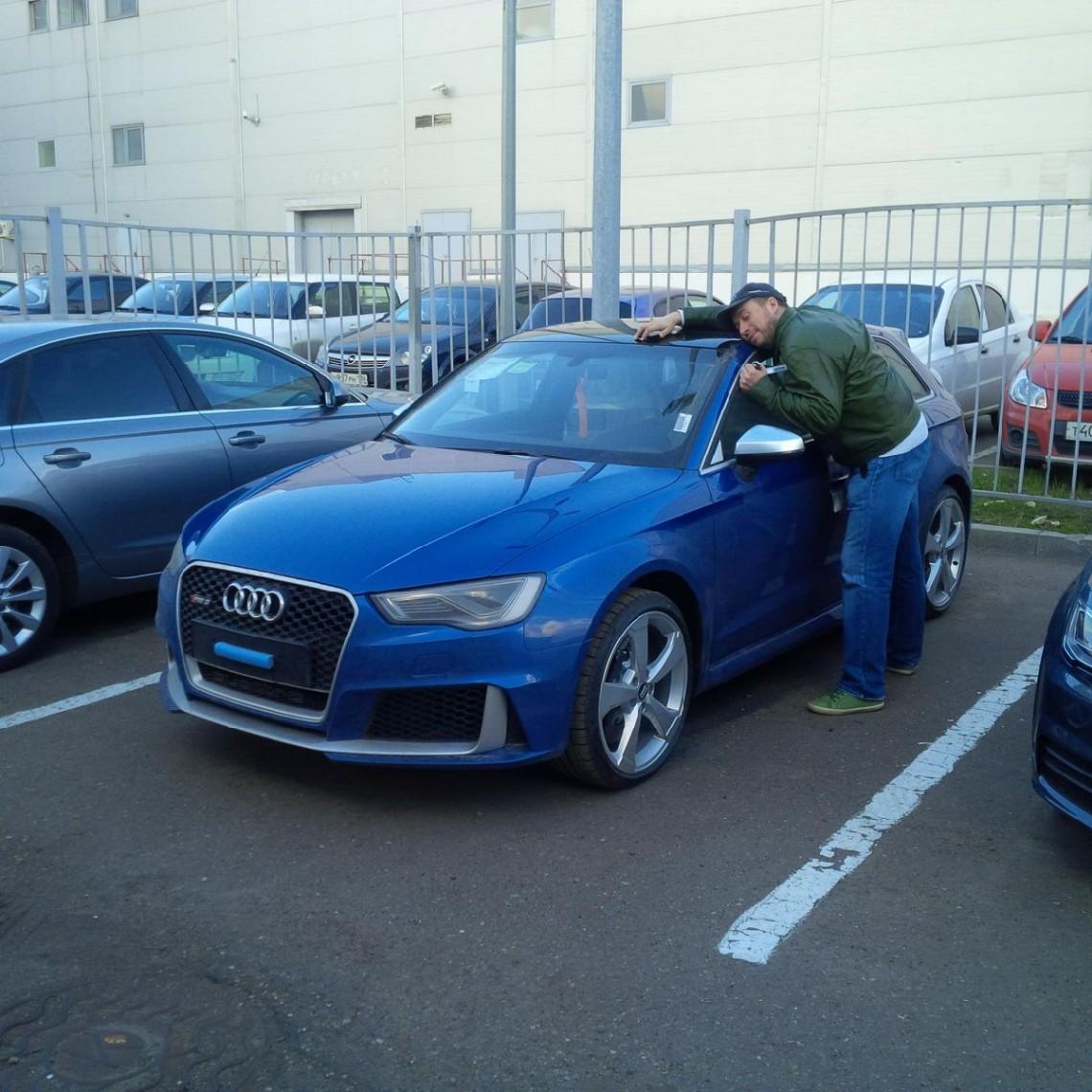Самый длительный тест-драйв Audi RS3. Для этого пришлось его купить:)