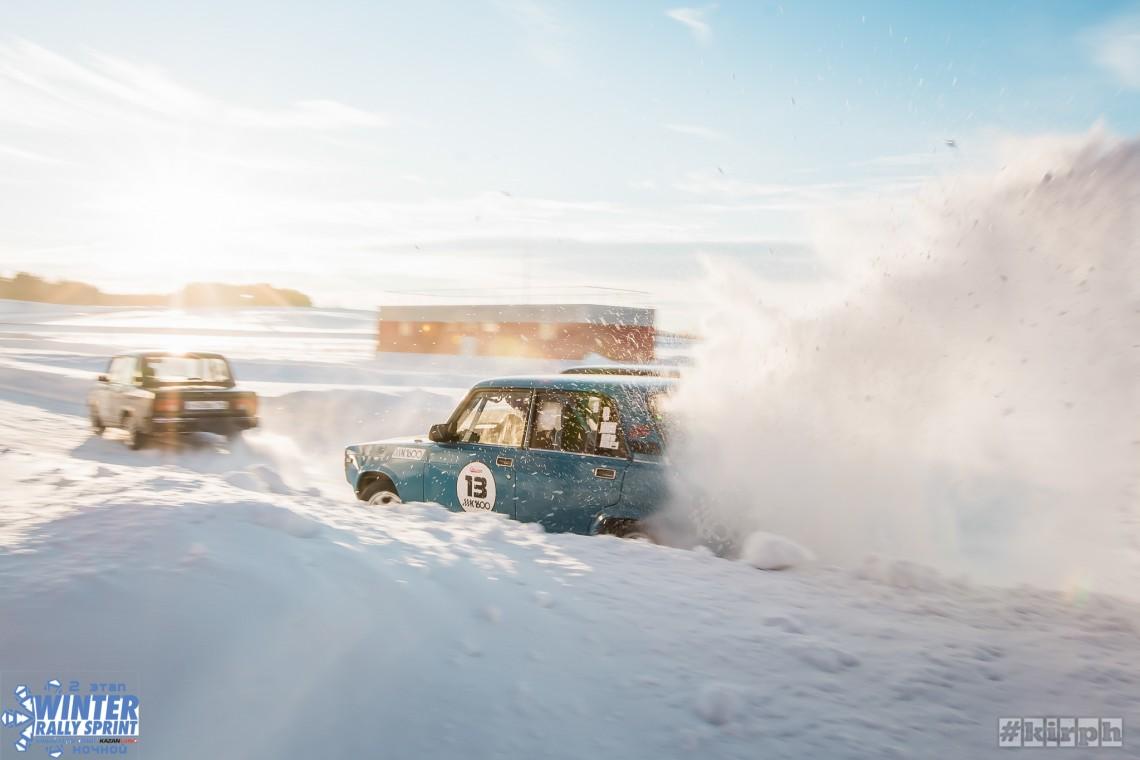 2 этап Зимнего Ралли Спринта на автодроме KazanRing