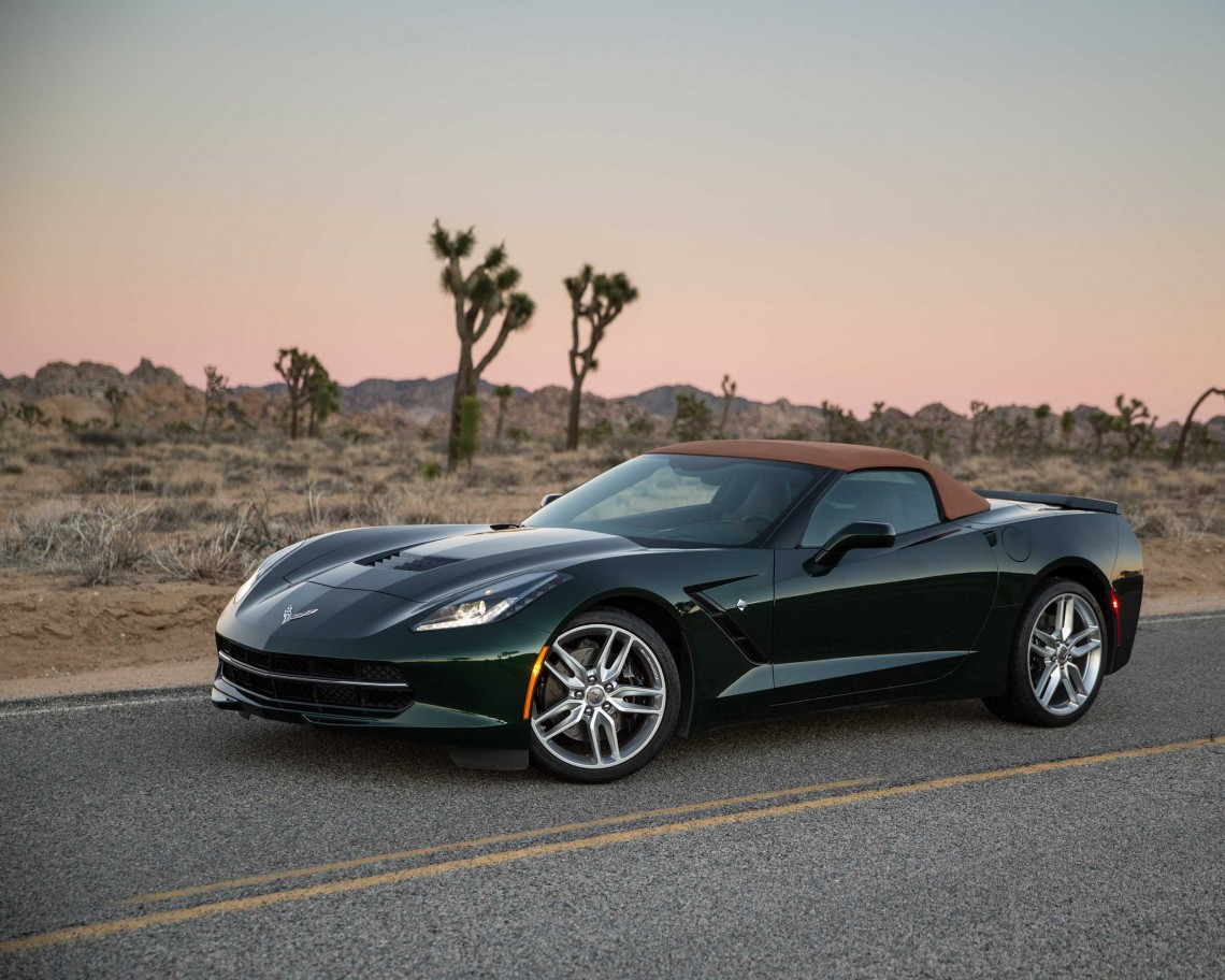 #КолонкаКларксона: тест-драйв Chevrolet Corvette Stingray convertible '2014