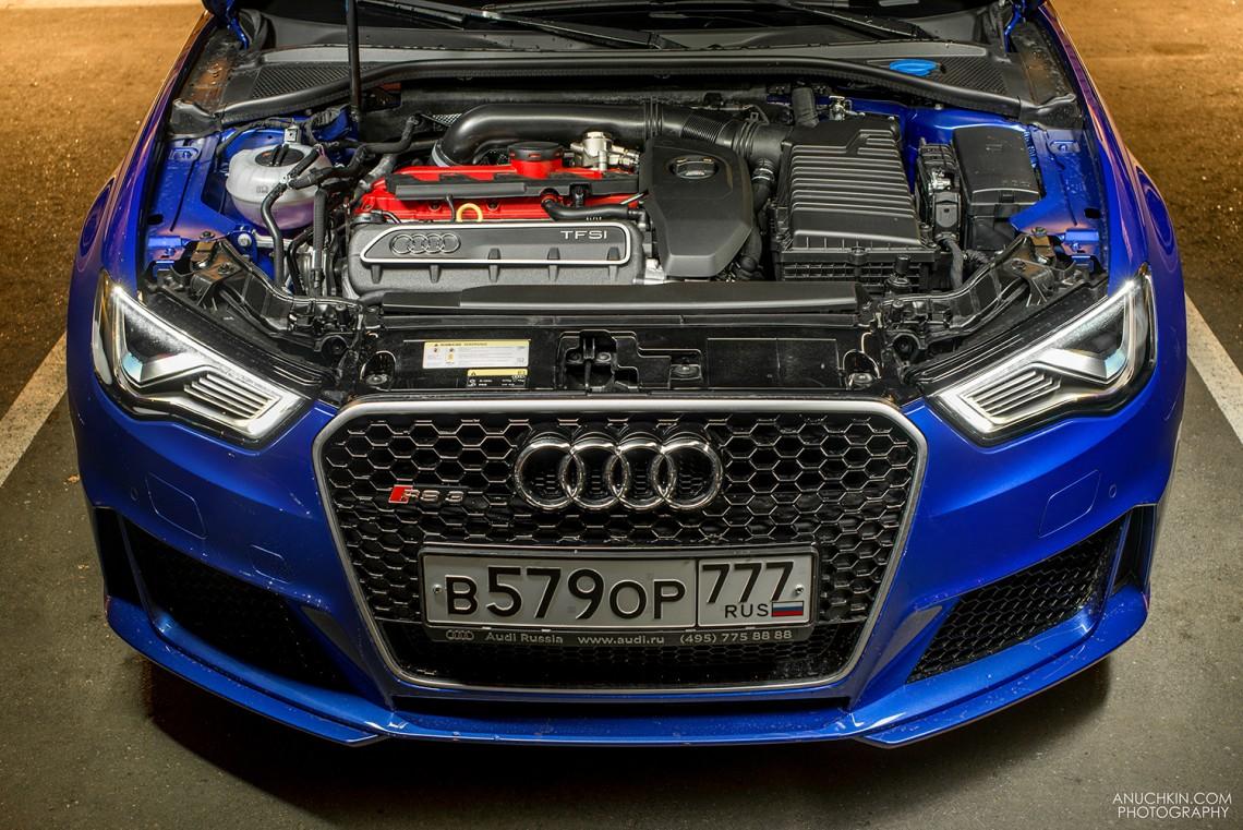 Первое знакомство с Audi RS3, тест-драйв