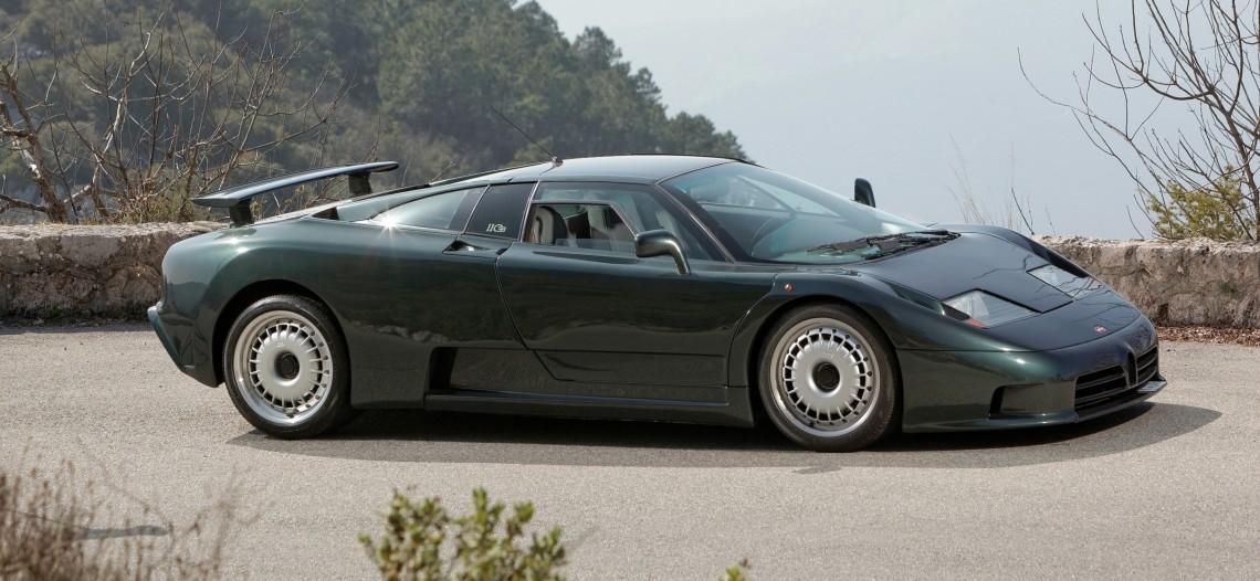 Редкие автомобили в России и их истории: Bugatti EB110