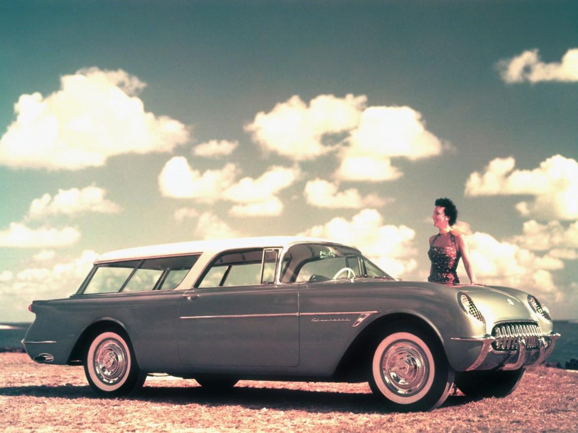#НеизвестнаяАмерика, часть 48: Рожденный быть полезным - Chevrolet Nomad'1954