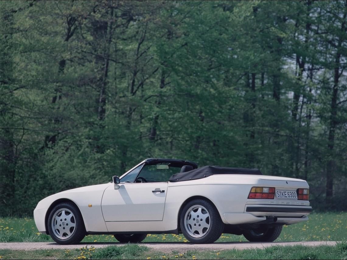 Удивительная история Porsche 944 Cabrio