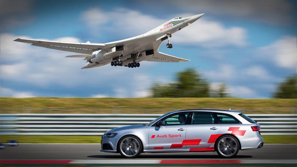 Видео о том, как я катался на Audi RS 6 и думал о Ту-160