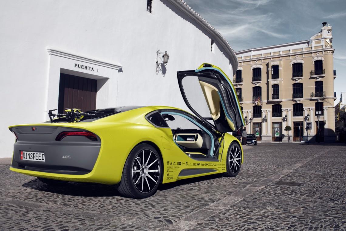 Машина будущего - Rinspeed Σtos Concept