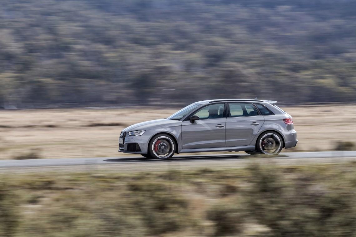 Всё, что вам нужно знать об Audi RS3, тест-драйв