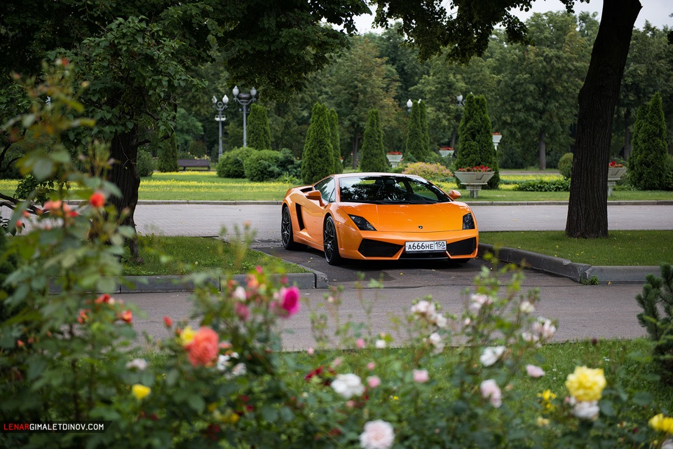 Lamborghini Gallardo, московский фотосет