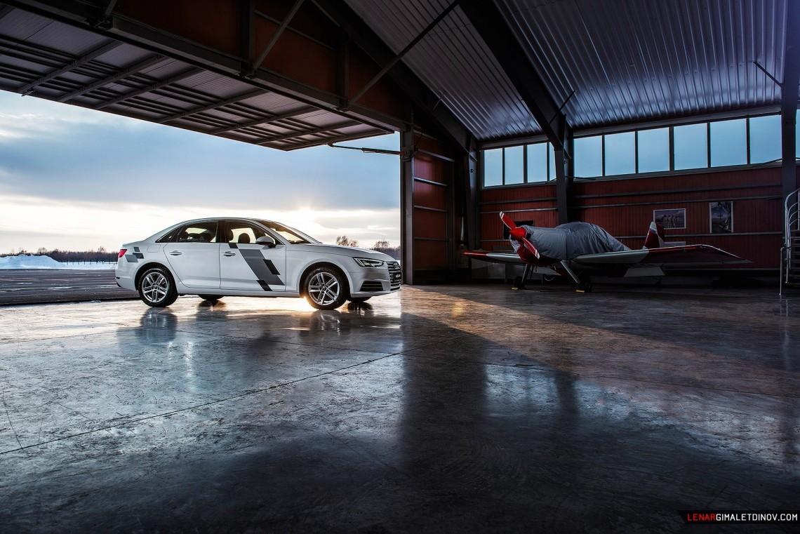 Казанский фотосет Audi A4 B9 new