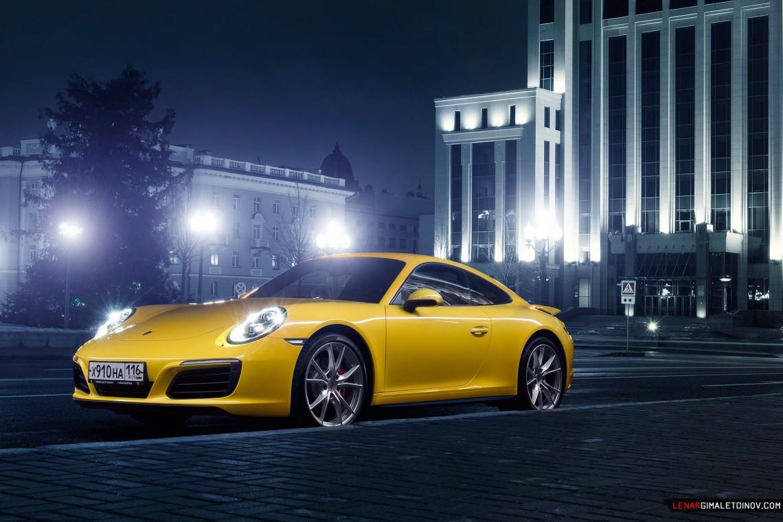 Porsche 911 Carrera 4S, казанский фотосет