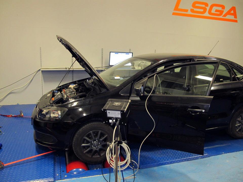 Топ версия атмосферного двигателя VW Polo sedan 1.6 - для любительских гонок и трек-дней