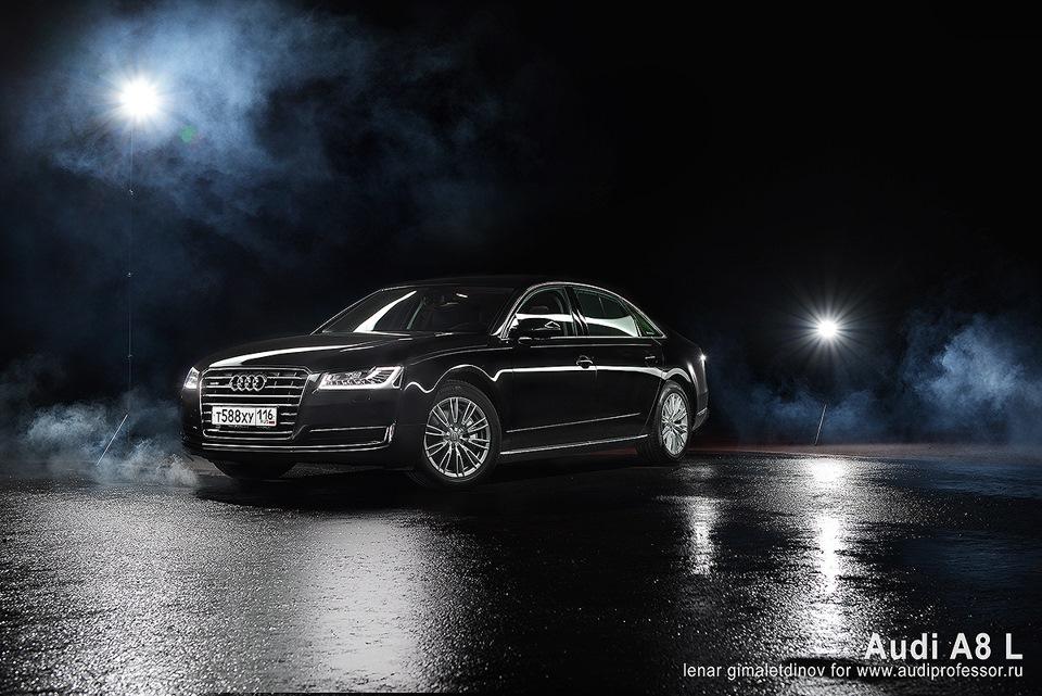 """Тест-драйв Audi A8 Long new — """"трёхдневный тест"""""""